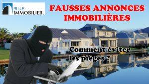 Fausses annonces immobilières